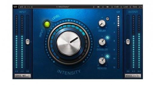 Waves Greg Wells VoiceCentric Signature Plug-in Doubler Reverb Delay Vocal