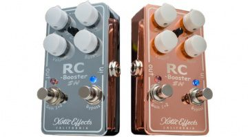 Xotic RC Booster SH Signature Scott Henderson Copper Chrome Pedal