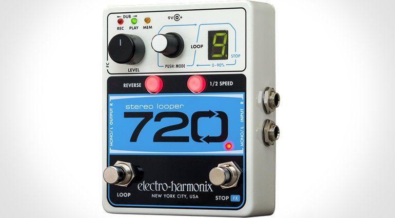 Electro Harmonix 720 Stereo Looper Pedal Front EHX