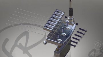 Floyd Rose Rail Tail Non Locking Vibrato Tremolo System Strat