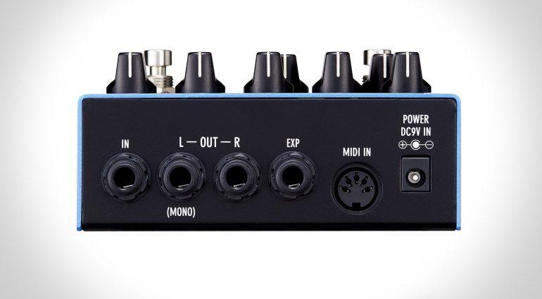 Free The Tone TA-1H Tri Avatar Chrous Effekt Pedal Back