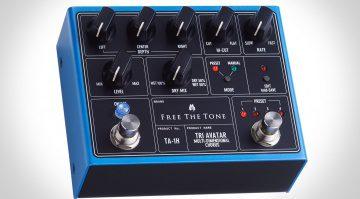 Free The Tone TA-1H Tri Avatar Chrous Effekt Pedal Front