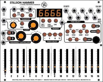 Harvestman Stillson Hammer Sequencer