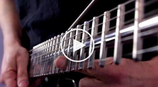 Metall-Gitarre