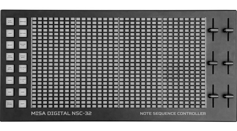 Misa Digital NSC-32 MIDI USB Controller Sequencer