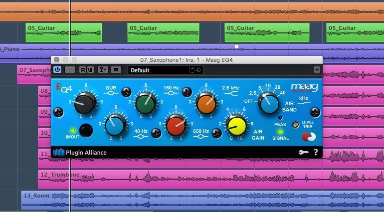 Plugin Alliance Mäag EQ4 Plug-in EQ