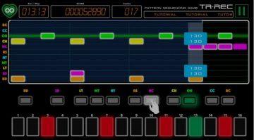 Roland TR-REC App iOS Android Smartphone Spiel Screenshot GUI