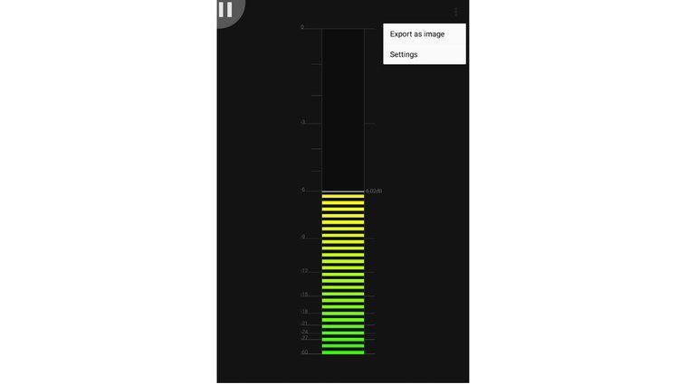 SB Audio AudioUtil App Android GUI Meter