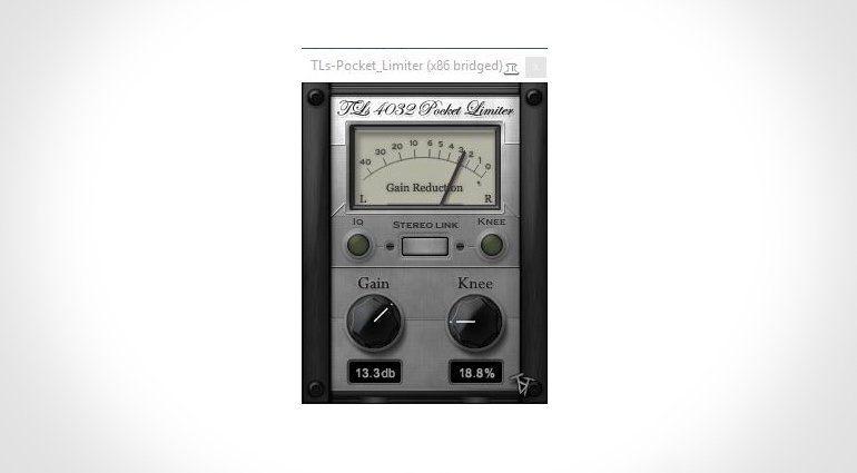 TbT TLs Pocket Limiter VST Plug-In GUI