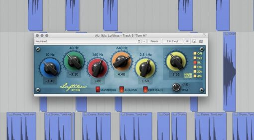 lkjb Luftikus EQ Freeware Plug-in