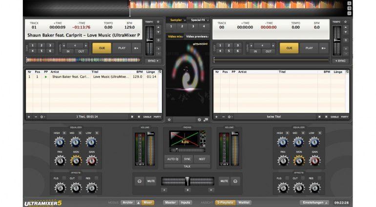 Digital Audio Solutions Ultramixer 5S RC2