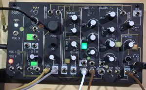 NAMM 2016: Make Noise kündigt kleinen monophonen Desktop Synthesizer 0-Coast an