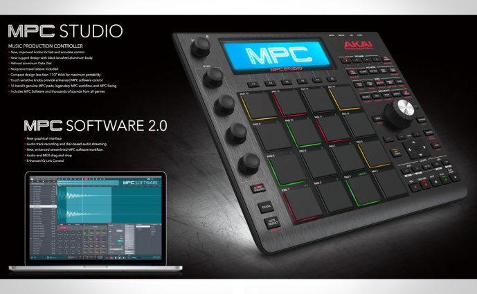 NAMM 2016: Akai kündigt eine Neuauflage der MPC Studio an und Version 2.0 der MPC Software