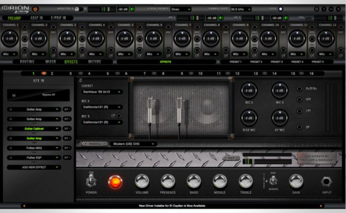Antelope Audio verrät ein Guitar Modeling Plug-in
