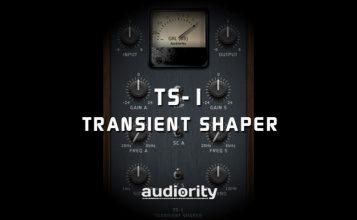 Audiority TS-1 Transient Shaper - Transienten verbiegen zu einem attraktiven Preis