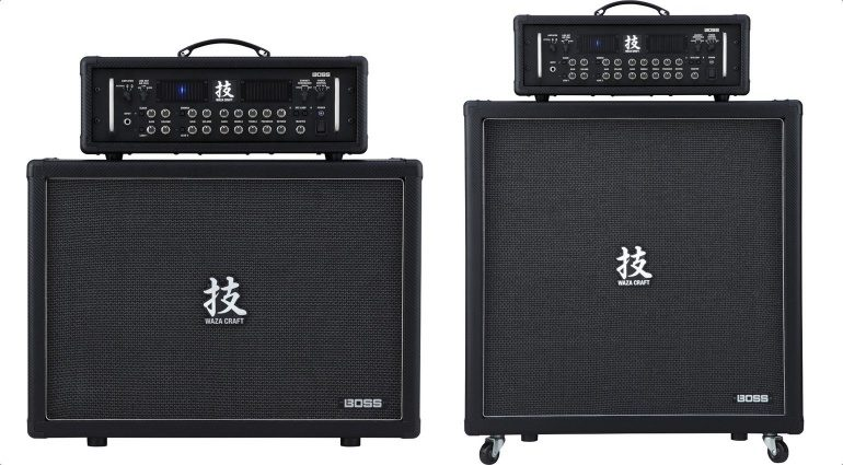 Boss Waza Craft Amp 4x12 2x12 Cab Box