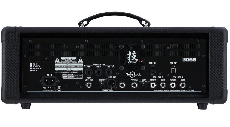 Boss Waza Craft Amp Head Topteil Back
