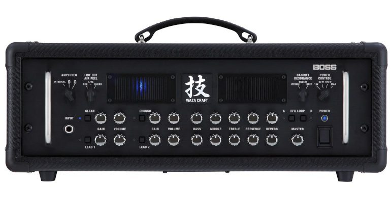 Boss Waza Craft Amp Head Topteil Front