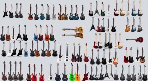 ESP LTD E-II 2016 Line Up NAMM