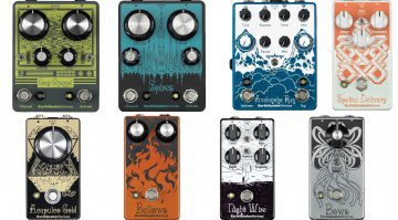 Earthquaker Devices Effekt Pedal Line-Up 2016 NAMM