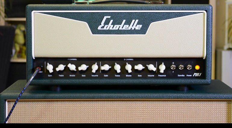 Echolette MK I Amp Röhre Topteil Front