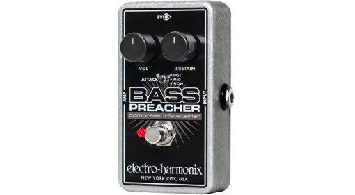 Electro Harmonix Bass Preacher Pedal Effekt Kompressor
