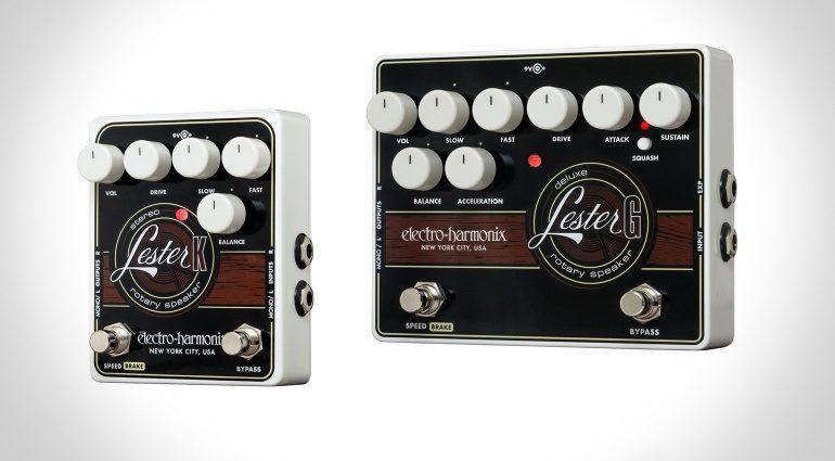 Electro Harmonix Lester G Lester K Leslie Rotary Speaker Pedal Effekt