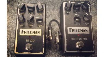 Friedman Amplification BE-OD Sir-Compre Pedal Teaser NAMM