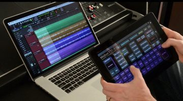 Harrison Mixbus 3.1 NAMM Update TTC-1 Touch Control Tablet
