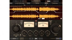 IK Multimedia Lurssen Mastering Console App Plug-In Wave View GUI