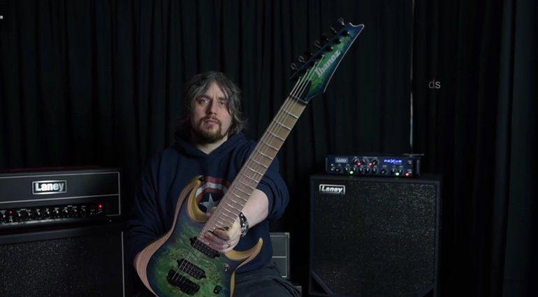 Ibanez RGDIX7 Gitarre Teaser