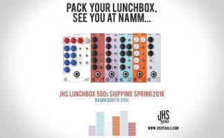 Jhs Pedals baut Module für die Lunchbox