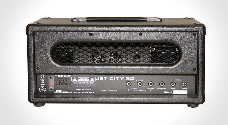 Jet City Custom 22 Head Amp Topteil Back