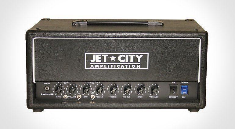 Jet City Custom 22 Head Amp Topteil Front