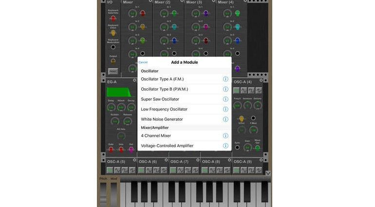 KQ MiniSynth GUI 2