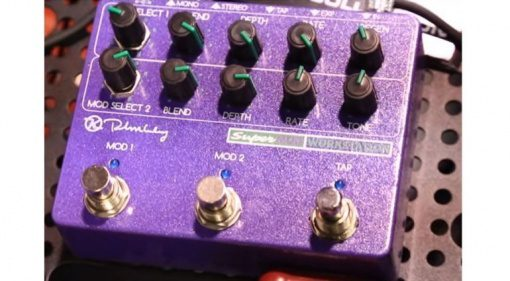 Keeley Super Mod Workstation Front NAMM
