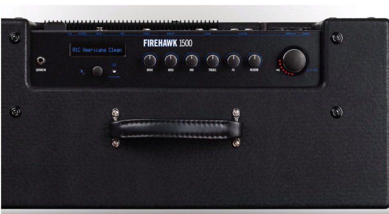 Line 6 Firehawk 1500 Amp Combo Panel Control Plate