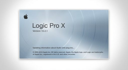 Logic Pro X 10.2.1 Update Error Splash Screen