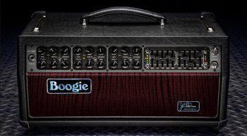 Mesa Boogie JP-2C John Petrucci Signature Mark C II Amp Topteil Front Vorderseite
