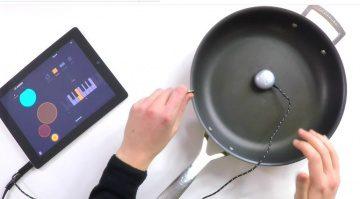 Mogees Vibration Sensor Anwendungsgebiet 2