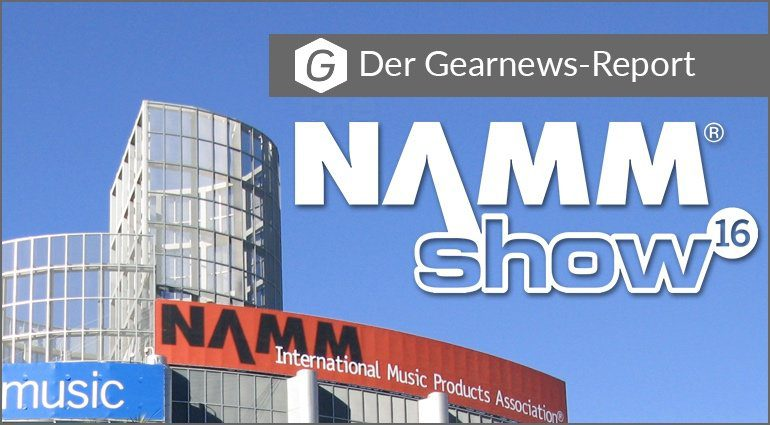 NAMM 2016 Show Header