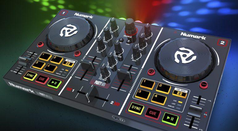 Numark Party Mix Controller mit RGB Lightshow
