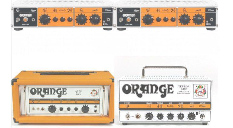 Orange Bass Sotriment Modelle Topteile