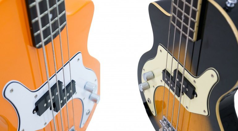 Orange O Bass Sunburst