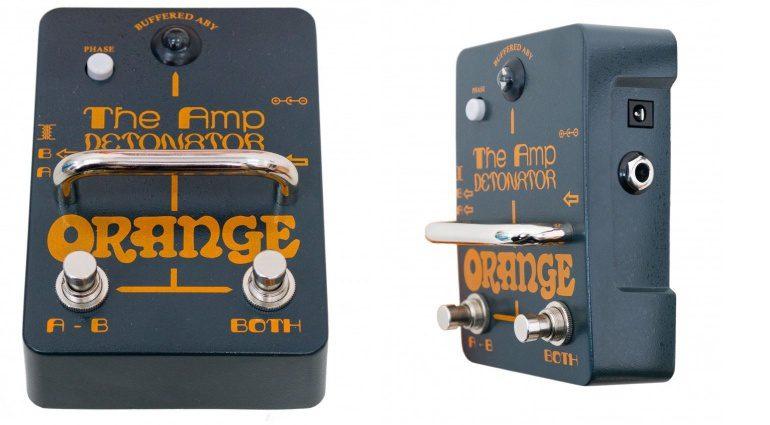 Orange The Amp Detonator AB-Y Box Pedal Front