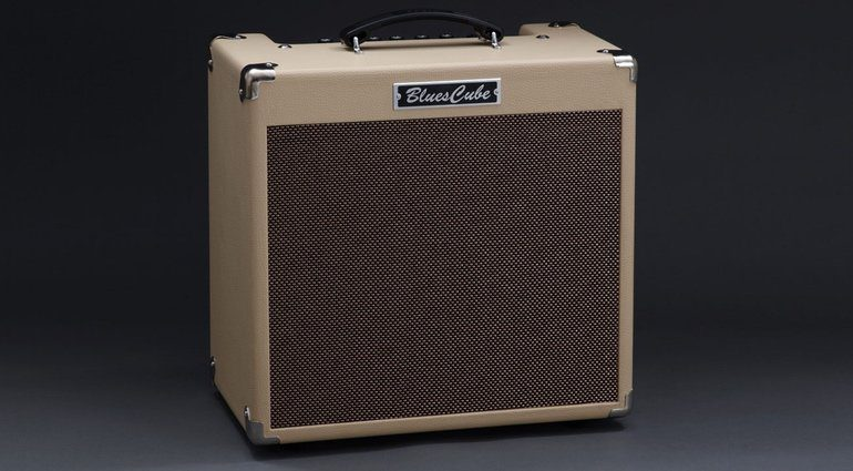 Roland Blues Cube Hot Vintage Blonde Front