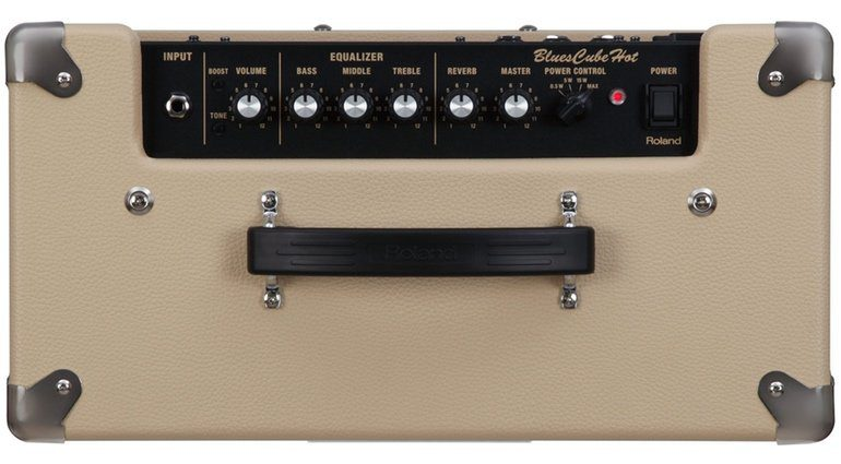 Roland Blues Cube Hot Vintage Blonde Regler Controls