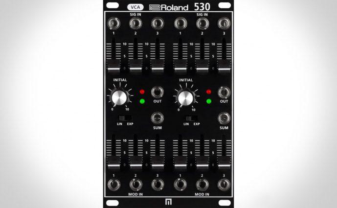Roland System-500 - Voll analog mit neuem System