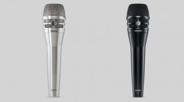 Shure KSM8 Dualdyne MIkrofon SIlber Schwarz