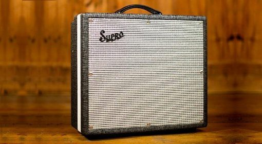 Supro Black Magick Combo NAMM Front